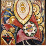 Puzzle  Grafika-00245 Marsden Hartley : Painting No. 48, 1913