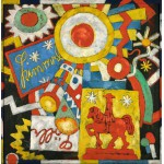 Puzzle  Grafika-00246 Marsden Hartley : Himmel, 1914-1915