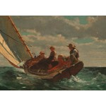 Puzzle  Grafika-00253 Winslow Homer : Breezing Up (A Fair Wind), 1873-1876