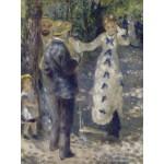Puzzle  Grafika-00270 Auguste Renoir : La Balançoire, 1876