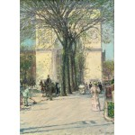 Puzzle  Grafika-00272 Childe Hassam : Washington Arch, Spring, 1890