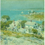 Puzzle  Grafika-00274 Childe Hassam : New England Headlands, 1899