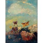 Puzzle  Grafika-00303 Odilon Redon : Papillons, 1910