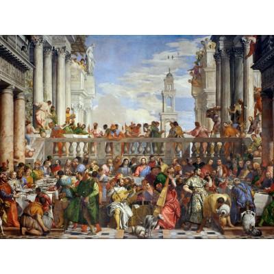 Puzzle Grafika-00305 Paolo Veronese : Les Noces de Cana, 1563
