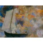 Puzzle  Grafika-00311 Odilon Redon : Nuages Fleuris, 1903