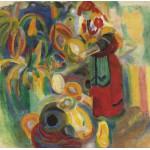 Puzzle  Grafika-00315 Robert Delaunay : La Grande Portugaise, 1915