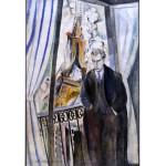 Puzzle  Grafika-00316 Robert Delaunay : Le Poète Philippe Soupault, 1922