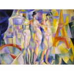 Puzzle  Grafika-00318 Robert Delaunay : La ville de Paris, 1912