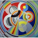 Puzzle  Grafika-00323 Robert Delaunay : Rythme n°1, 1938