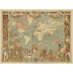 Puzzle  Grafika-00327 Walter Crane : The British Empire, 1886