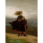 Puzzle  Grafika-00328 Jonathan Eastman Johnson : The Girl I Left Behind Me, 1870-1875