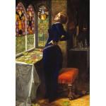 Puzzle  Grafika-00361 John Everett Millais : Mariana, 1851