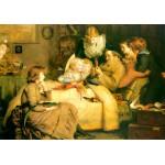 Puzzle  Grafika-00364 John Everett Millais : Ruling Passion, 1885