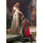 Puzzle  Grafika-00368 Edmund Blair Leighton : L'Adoubement, 1901