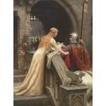 Puzzle  Grafika-00369 Edmund Blair Leighton : Dieu te protège, 1900