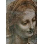 Puzzle  Grafika-00375 Léonard de Vinci : La Vierge, l'Enfant Jésus avec Sainte Anne et Saint Jean Baptiste (détail)