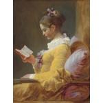 Puzzle  Grafika-00390 Jean-Honoré Fragonard : La Liseuse, 1770-1772