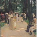Puzzle  Grafika-00405 Max Liebermann : Allée des Perroquets, 1902