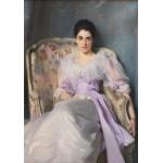 Puzzle  Grafika-00413 John Singer Sargent : Lady Agnew of Lochnaw, 1893