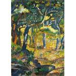 Puzzle  Grafika-00414 Henri-Edmond Cross : Une clairière en Provence