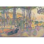 Puzzle  Grafika-00415 Henri-Edmond Cross : L'air du Soir, 1893