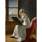 Puzzle  Grafika-00416 Marie-Denise Villers : Jeune Femme Dessinant, 1801