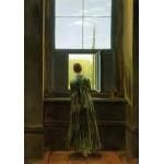Puzzle  Grafika-00419 Caspar David Friedrich : Femme à la Fenêtre, 1822