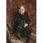 Puzzle  Grafika-00420 Ilya Repin : Portrait de Yuri, 1882