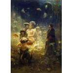 Puzzle  Grafika-00421 Ilya Repin : Sadko, 1876