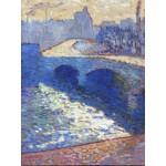 Puzzle  Grafika-00424 Robert Antoine Pinchon : La Seine à Rouen au Crépuscule, 1905