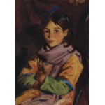 Puzzle  Grafika-00432 Robert Henri : Mary Agnes, 1924