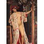 Puzzle  Grafika-00444 James Tissot : La japonaise au Bain, 1864