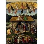 Puzzle  Grafika-00448 Botticelli Sandro : La Nativité Mystique, 1500-1501