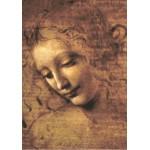 Puzzle  Grafika-00461 Léonard de Vinci : La Scapigliata, 1508