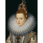 Puzzle  Grafika-00463 Frans Pourbus le Jeune : L'infante Isabelle d'Espagne, XVIIe Siècle