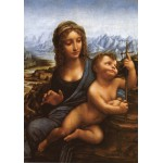 Puzzle  Grafika-00464 Léonard de Vinci : La Madone aux Fuseaux (copie), vers 1501