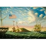 Puzzle  Grafika-00466 Thomas Chambers : Le Port de Boston, XIXe Siècle