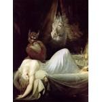Puzzle  Grafika-00471 Henry Fuseli : Le Cauchemar, 1790-1791