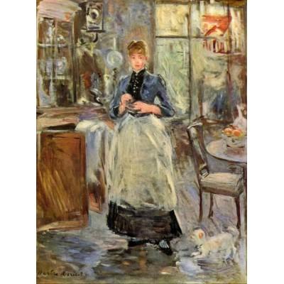 Puzzle Grafika-00475 Berthe Morisot : Dans la Salle à Manger, 1875
