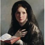 Puzzle  Grafika-00485 Friedrich von Amerling : Perdue dans les Rêves, 1835