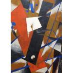 Puzzle  Grafika-00489 Lyubov Popova : Space-Power Construction, 1921