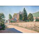 Puzzle  Grafika-00495 Paul Signac : Le Chateau de Comblat, 1887