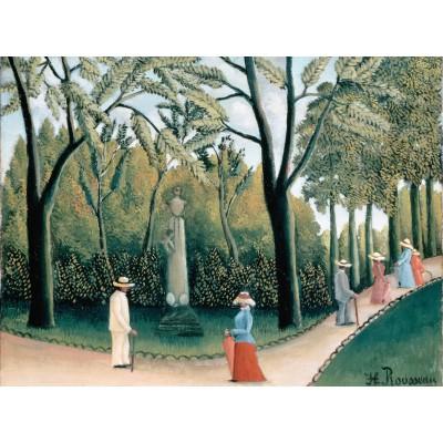 Puzzle Grafika-00503 Henri Rousseau : Le Jardin du Luxembourg, 1909