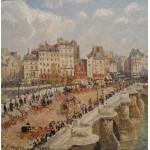 Puzzle  Grafika-00514 Camille Pissarro : Le Pont-Neuf, 1902