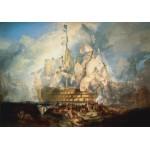 Puzzle  Grafika-00523 J. M. W. Turner : La bataille de Trafalgar, 1822