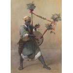 Puzzle  Grafika-00536 Carl Haag : A Nubian Harper, 1858