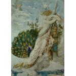 Puzzle  Grafika-00539 Gustave Moreau : Le Paon se plaignant à Junon, 1881