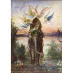 Puzzle  Grafika-00540 Gustave Moreau : L'Eléphant Sacré, 1882