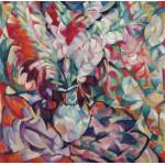 Puzzle  Grafika-00547 Leo Gestel : Gladiolen, 1913