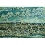 Puzzle  Grafika-00554 Maurice Prendergast : St. Malo , 1907